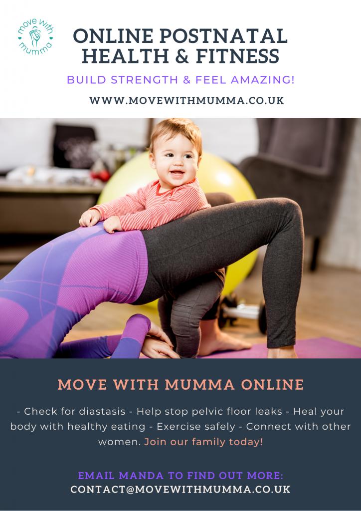 Online Postnatal Flyer